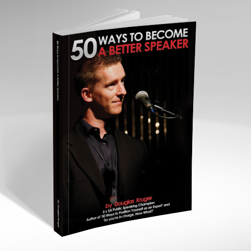Douglas Kruger 50 ways to become a better speaker book