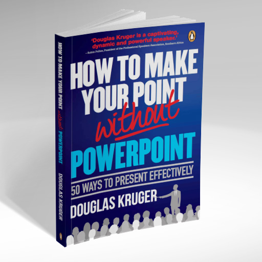 Douglas Kruger How to make your point without powerpoint Book