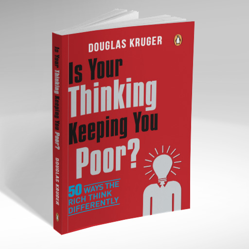 Douglas Kruger Is your thinking keeping you poor? Book