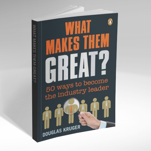 Douglas Kruger - What makes them great? Book